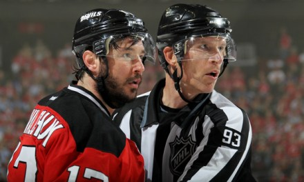 NHL Linesman Murphy Officiates 1500th Game