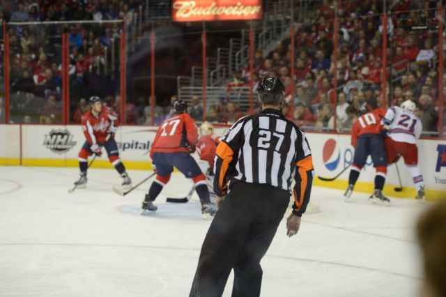 Tonight's NHL Referees & Linesmen – 3/25/15