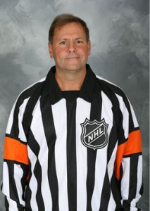 NHL Referee Paul Devorski (#10)