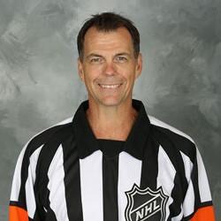 NHL Referee Mike Leggo (#3)