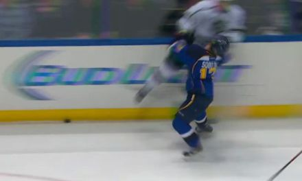 No Discipline for Kings' Muzzin For Hit on Blues' Sobotka
