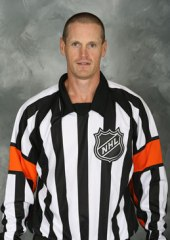 NHL Referee Dan O'Rourke (#9)