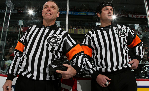 Today's NHL Referees – 3/22/14