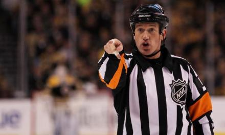 Today's NHL Playoff Referees – 4/19/14