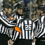 Tonight's NHL Referees and Linesmen – 3/18/18