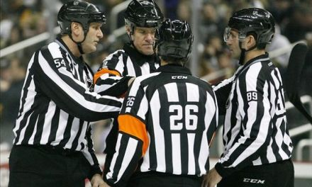 Tonight's NHL Referees & Linesmen – 11/10/14