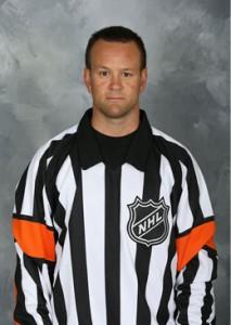 NHL Referee Kyle Rehman (#37)