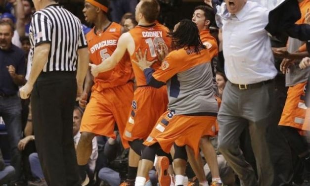 Syracuse's Boeheim Argues Call, Gets Ejected