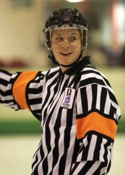 Referee Joy Tottman