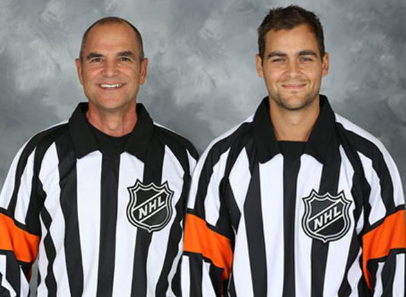 Tonight's NHL Referees – 2/25/14