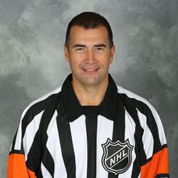 NHL Referee Marc Joannette (#25)