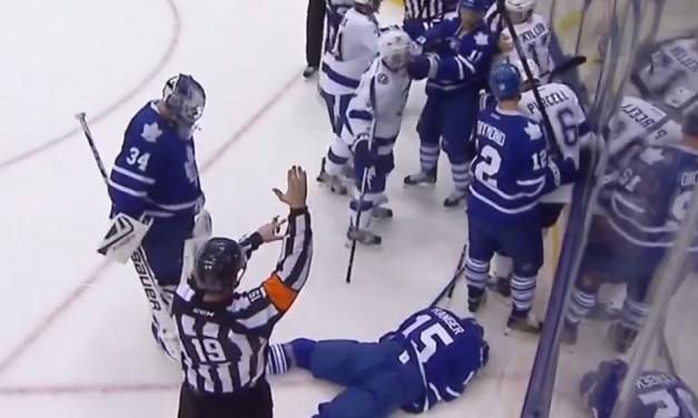No Suspension to Killorn for Hit on Leafs' Ranger