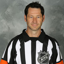 NHL Referee Steve Kozari (#40)