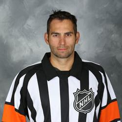 NHL Referee Francois St. Laurent (#38)