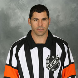 NHL Referee Justin St. Pierre (#12)