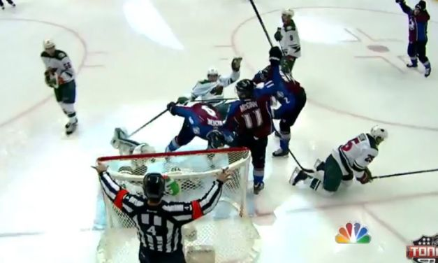 What Happened on Avs First Goal in Game 7 vs. Wild?