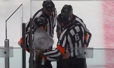Tonight's NHL Playoff Referees – 4/21/14