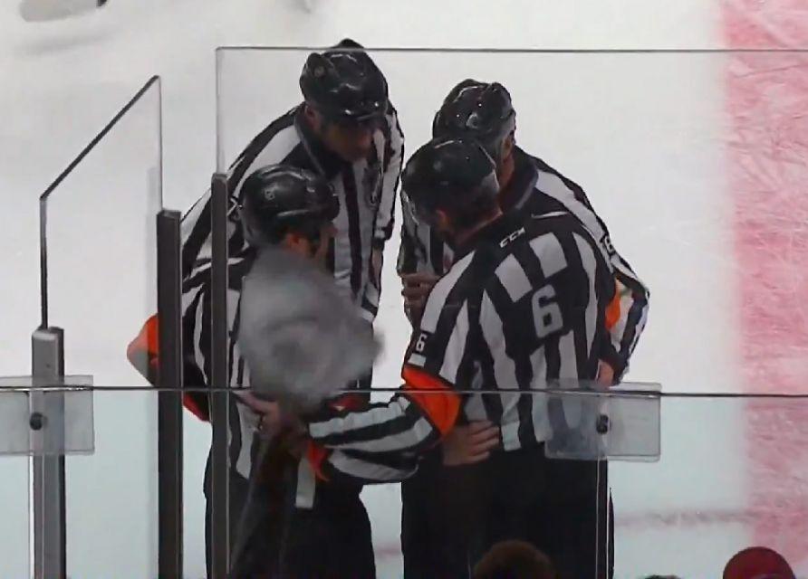 Tonight's NHL Playoff Referees – 4/28/14