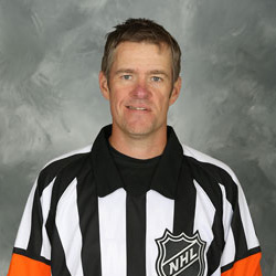 NHL Referee Dave Jackson (#8)