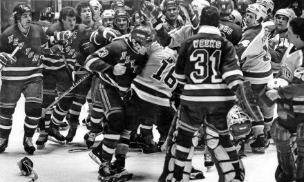 Rangers/Kings Bench-Clearing Playoff Brawl from 1981