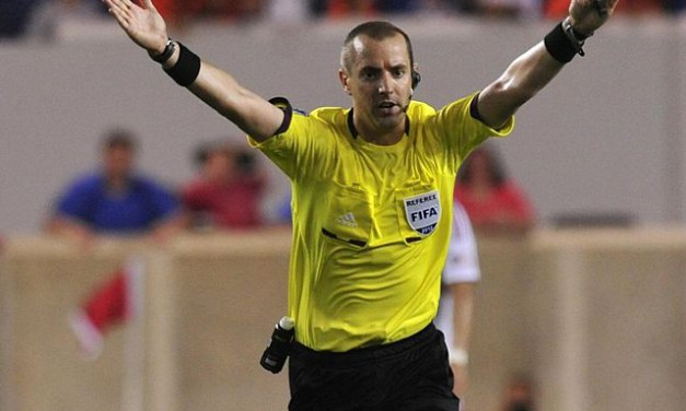 Geiger is First American Ref to Work Knockout Round at World Cup