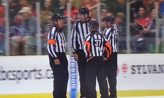 Glencross Game-Winner Allowed After Ref Discussion