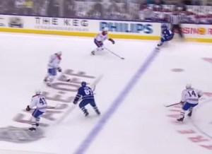 Leafs Offside on Kadri's Goal
