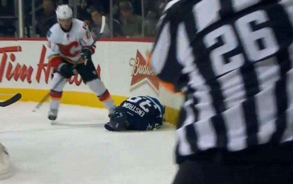 No Suspension for Flames' Backlund After Hit on Jets' Enstrom