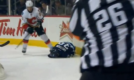 No Suspension for Flames' Backlund After Hit on Jets' Enstrom