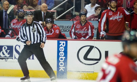 Tonight's NHL Playoff Referees & Linesmen – 4/16/15
