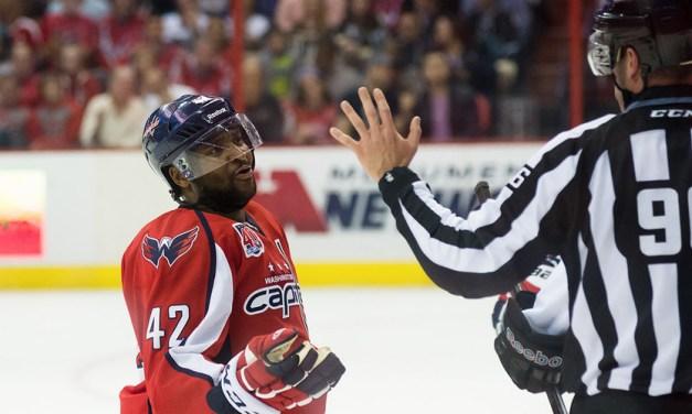 Tonight's NHL Officials – 11/15/14