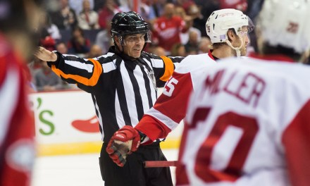 Tonight's NHL Officials – 12/3/14