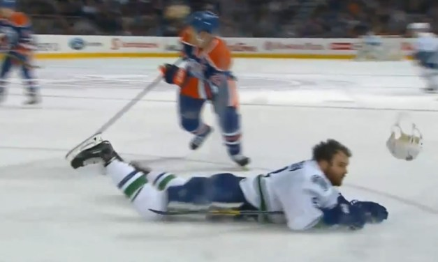 Oilers' Ference Suspended 3 Games for Hit on Canucks' Kassian