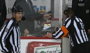 Referee Kelly Sutherland talks to the Situation Room about Dan Boyle's Shootout Goal
