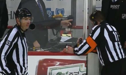 Tonight's NHL Playoff Referees & Linesmen – 5/30/15