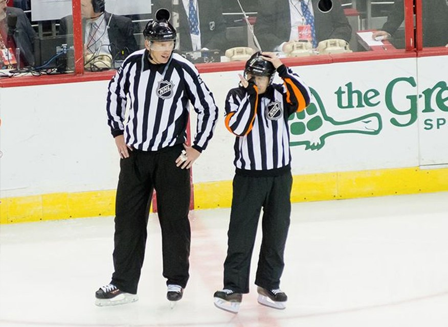 Tonight's NHL Referees & Linesmen – 1/3/15