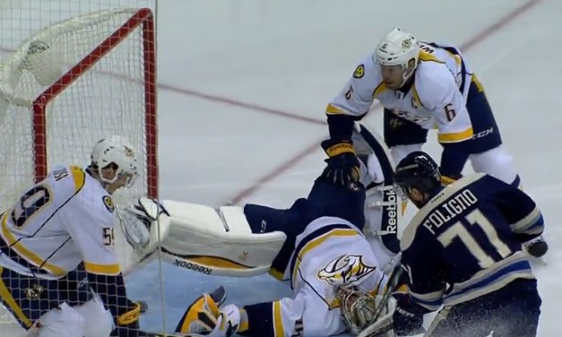 NHL Situation Room: Predators/Blue Jackets – 1:16 of the First Period