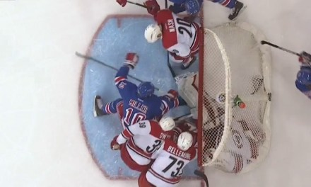Why Was Rangers' Goal Waved Off vs. Canes?