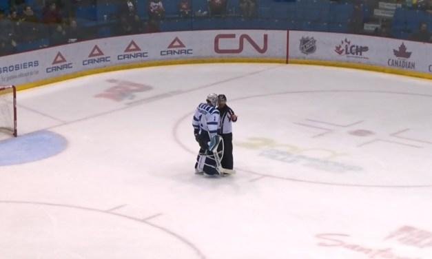 QMJHL Goaltender Phaneuf Suspended 9 Games For Kick