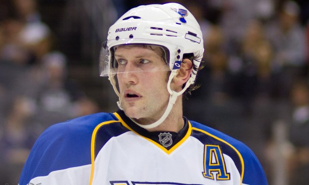 No Suspension for Blues' Backes for Boarding Alzner