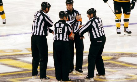 Tonight's NHL Playoff Referees & Linesmen – 5/23/15