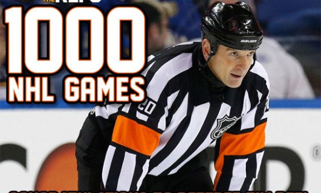 Referee Tim Peel to Work 1000th NHL Game