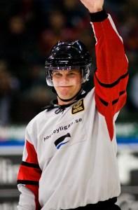 Referee Marcus Vinnerborg