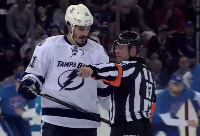 Tonight's NHL Referees & Linesmen – 1/24/16