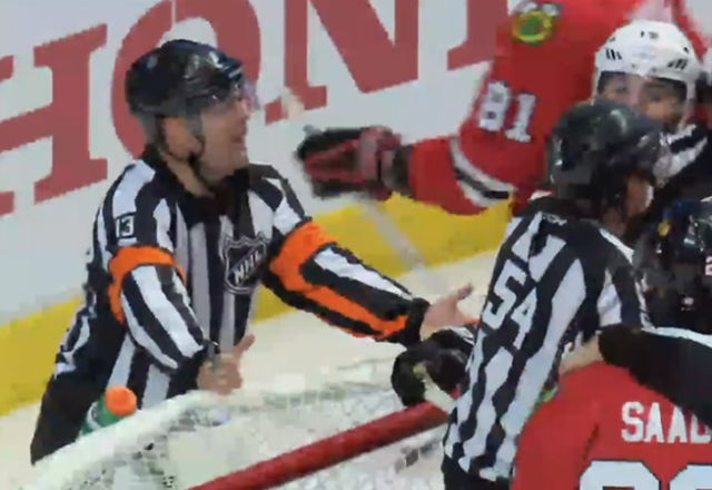 NHL Refs Mic'd Up: Dan O'Halloran at Ducks/Hawks Game 3