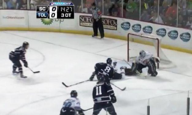 Reneau, Lambert Work ECHL Triple-OT Game 7 Thriller