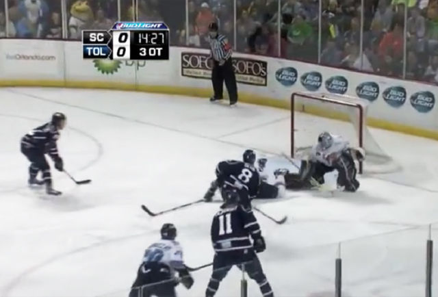 Reneau, Lambert Work ECHL Triple-OT Game 7 Thriller
