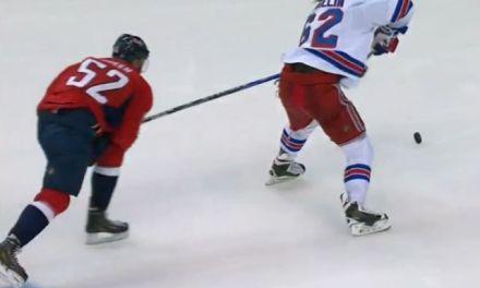 Rangers' Hagelin Gets Rare Playoff Penalty Shot