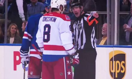Referee Kevin Pollock Mic'd Up For Rangers/Capitals Game 5