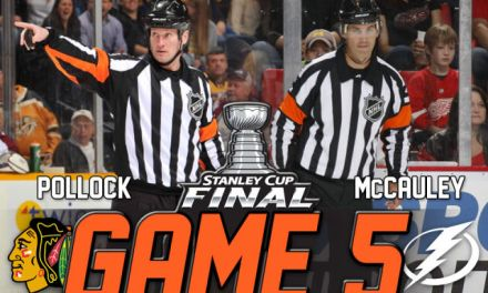 Tonight's Stanley Cup Final Referees & Linesmen – 6/13/15